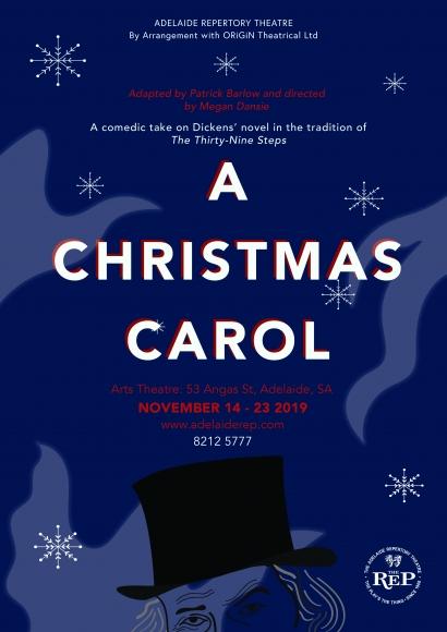 A Christmas Carol Poster.A Christmas Carol The Adelaide Repertory Theatre